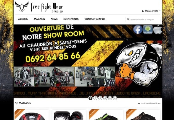 Free Fight Wear Réunion
